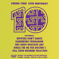 Swing Ting 10th Birthday