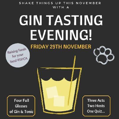 RSPCA Gin Tasting Evening