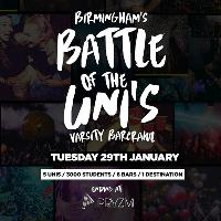 Battle Of The Unis