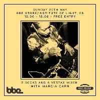BBE Music In-Store w/ Marcia Carr, Norman Jay, DJ Spoony & EVM12