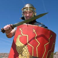 Clash of Romans at Portchester Castle