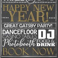 New Years Eve Great Gatsby Party