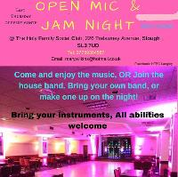 Jam, live band and open mic - FREE ENTRY
