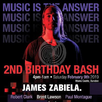 Music is the Answer... 2nd birthday with James Zabiela