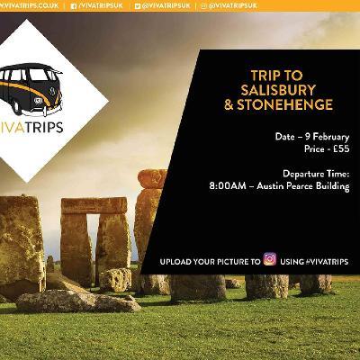 VIVA Surrey: Trip to STONEHENGE x SALISBURY