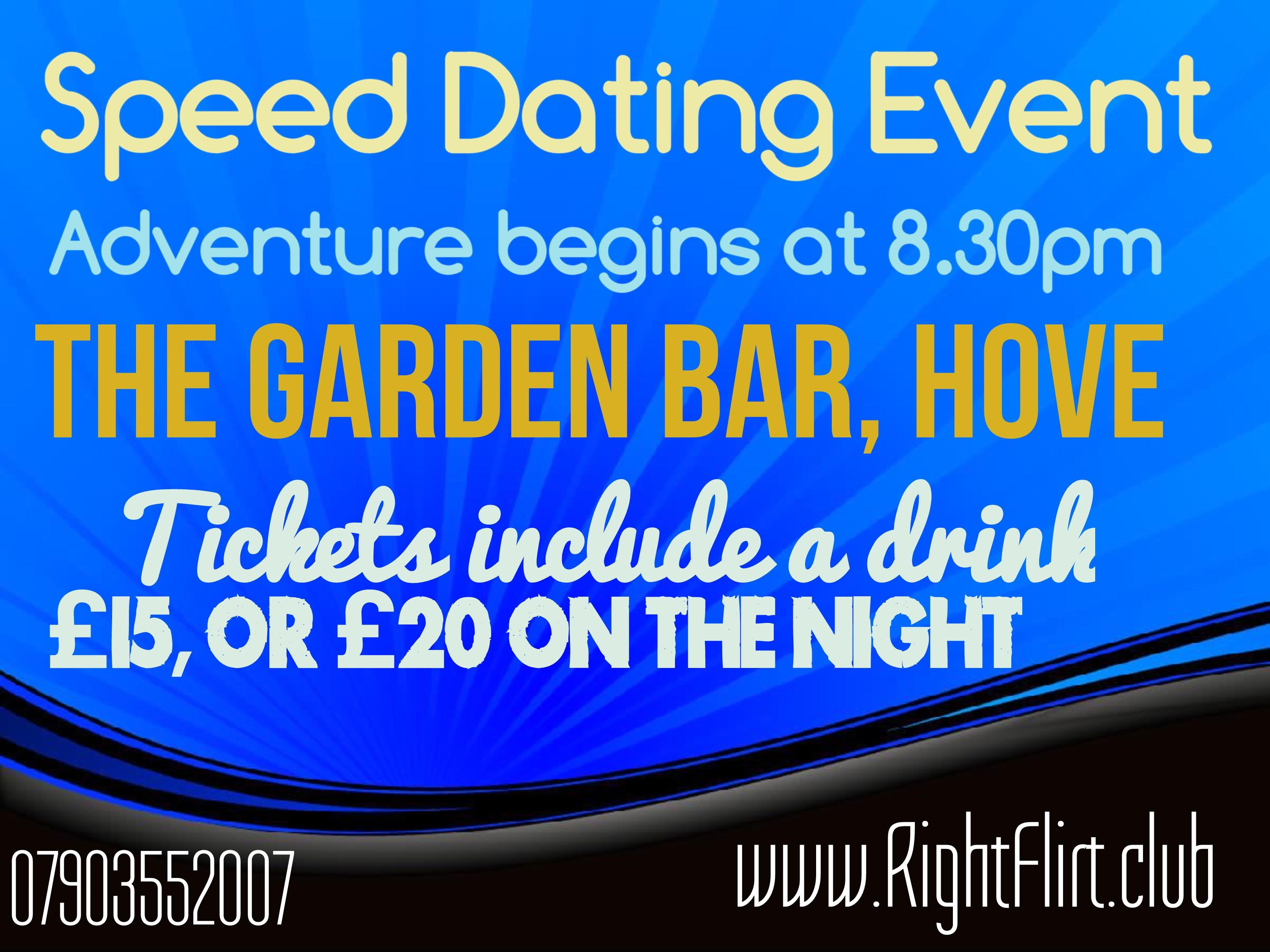 Speed dating in hove
