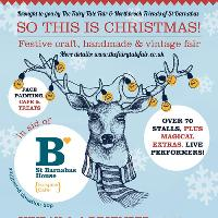 So This is Christmas - Craft fair in aid of St Barnabas