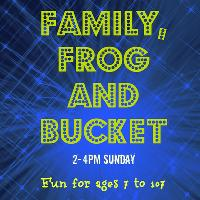 Family, Frog and Bucket
