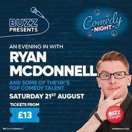 Buzz Presents.. Comedy Night (Irvine)