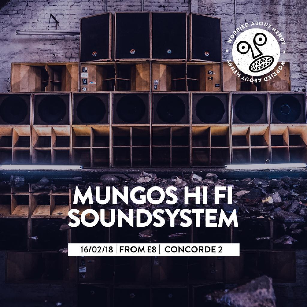 WAH w/ Mungo's Hi Fi Sound System