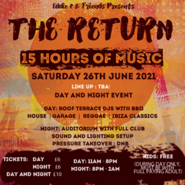 Eddie C & Friends Presents - The Return