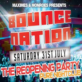 Maximes & Monroes present MOB & NA v Bass2Bounce & Bounce Nation