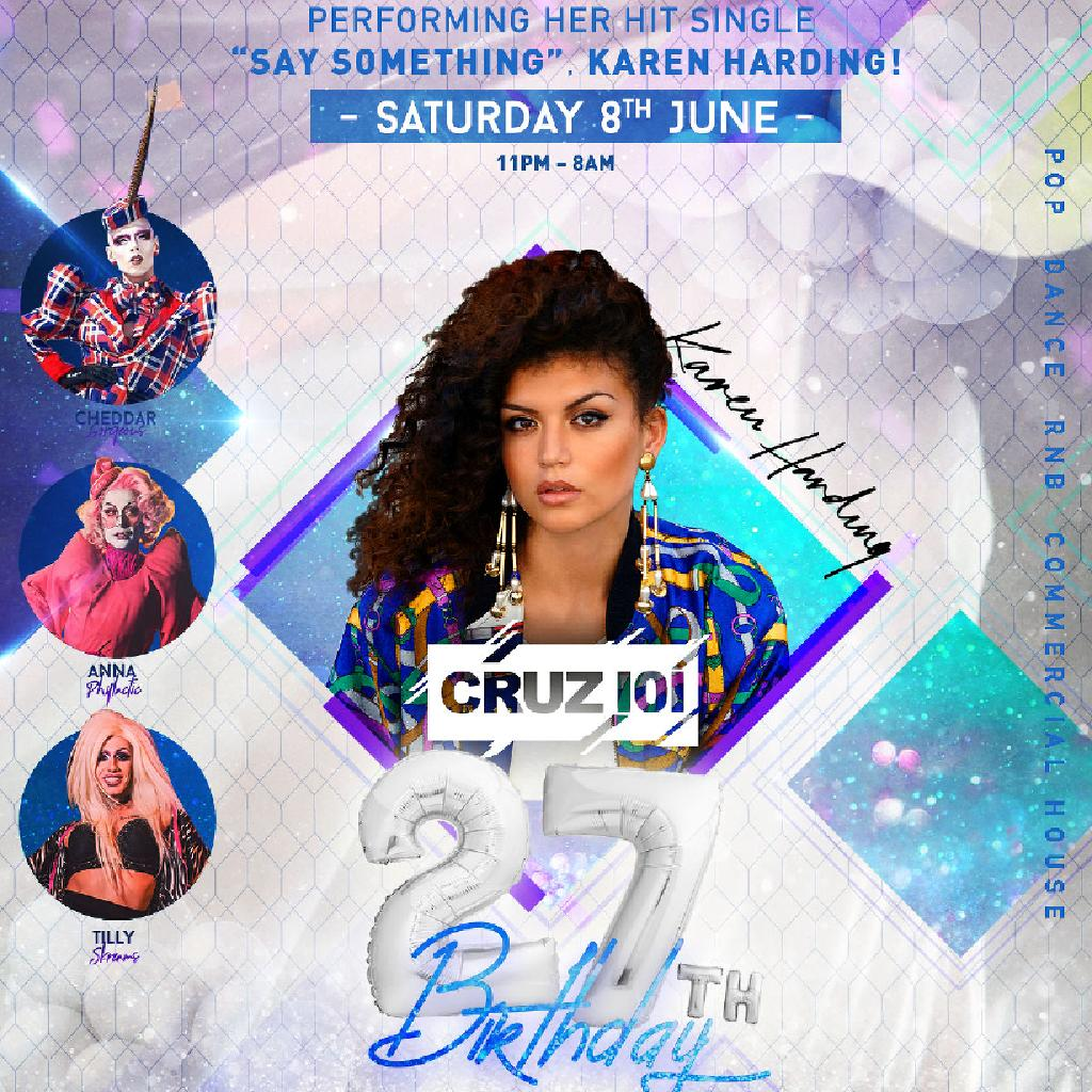 a297288f Cruz 101's 27th Birthday Party! Tickets | Cruz 101 Manchester | Sat 8th ...