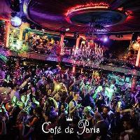 Student Night every Saturday at Cafe de Paris