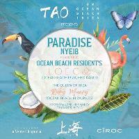OCEAN BEACH & TAO Present PARADISE NYE 2018