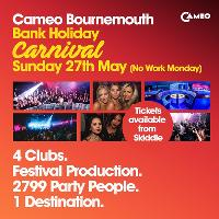 Carnival - Bank Holiday Special