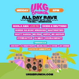 UKG Brunch - All Day Rave - Birmingham