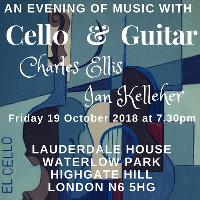 An Evening of Music with Cello and Guitar