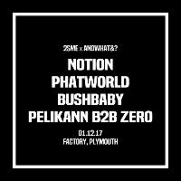 2SME x &? - Notion, Phatworld, Bushbaby & Pelikann b2b Zero!