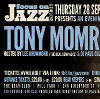 An evening with celebrated Vocalist Tony Momrelle