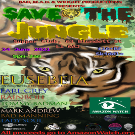 Save The Jungle Charity Rave