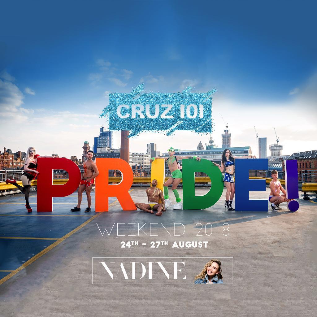 Manchester Pride Saturday ft. Nadine Coyle!