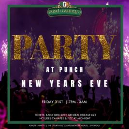 PARTY AT PUNCH NYE