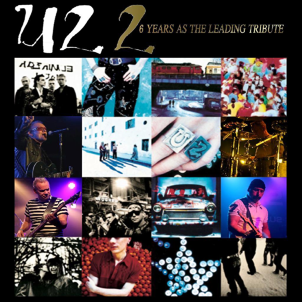 U2 2 perform the album 'Achtung Baby'.