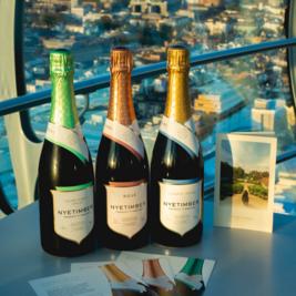 Nyetimber Sparkling Wine Tasting Flight at BA i360