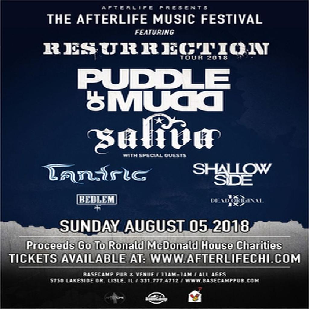 Afterlife festival ft  Resurrection tour w/ puddle of mudd | BaseCamp