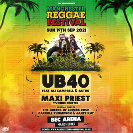 MRF Presents - UB40 feat Ali Campbell & Astro + Maxi Priest LIVE