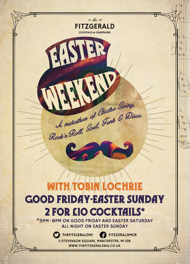 Easter Special The Fitzgerald Manchester Sat 26th