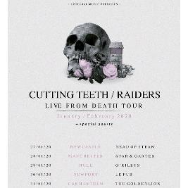Cutting Teeth, Raiders, Lost Within & Swarm Tickets | ORILEYS LIVE MUSIC VENUE Hull  | Wed 29th January 2020 Lineup