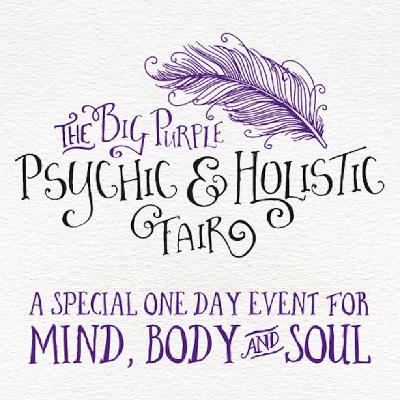The Big Purple Psychic & Holistic Fair at Chessington Community College