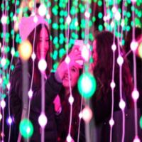 Submergence - Free interactive light show