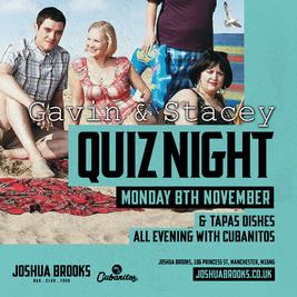 Gavin & Stacey Quiz at Joshua Brooks!