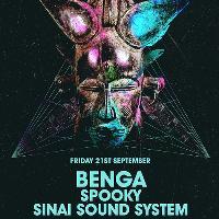 Mantra w/ Benga / Spooky & Sinai Sound System