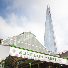 Borough Market Reopens for Al Fresco Dining and Sunday Trading