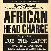 African Head Charge plus guests