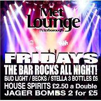 Friday Aftershow  Reduced entry list with great Bar Deals