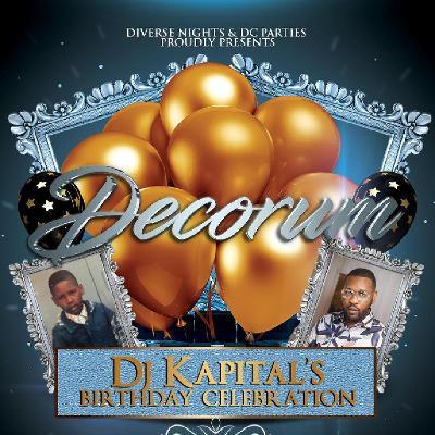 Venue: Decorum - Celebrating DJ Kapital Birthday   Mint Leaf