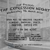 TAF Expression Night