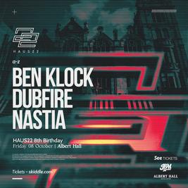 Haus22 8th Birthday | Ben Klock, Dubfire, Nastia