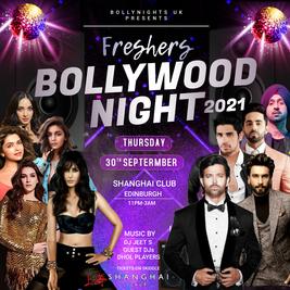 Freshers Bollywood Night 2021 // Edinburgh