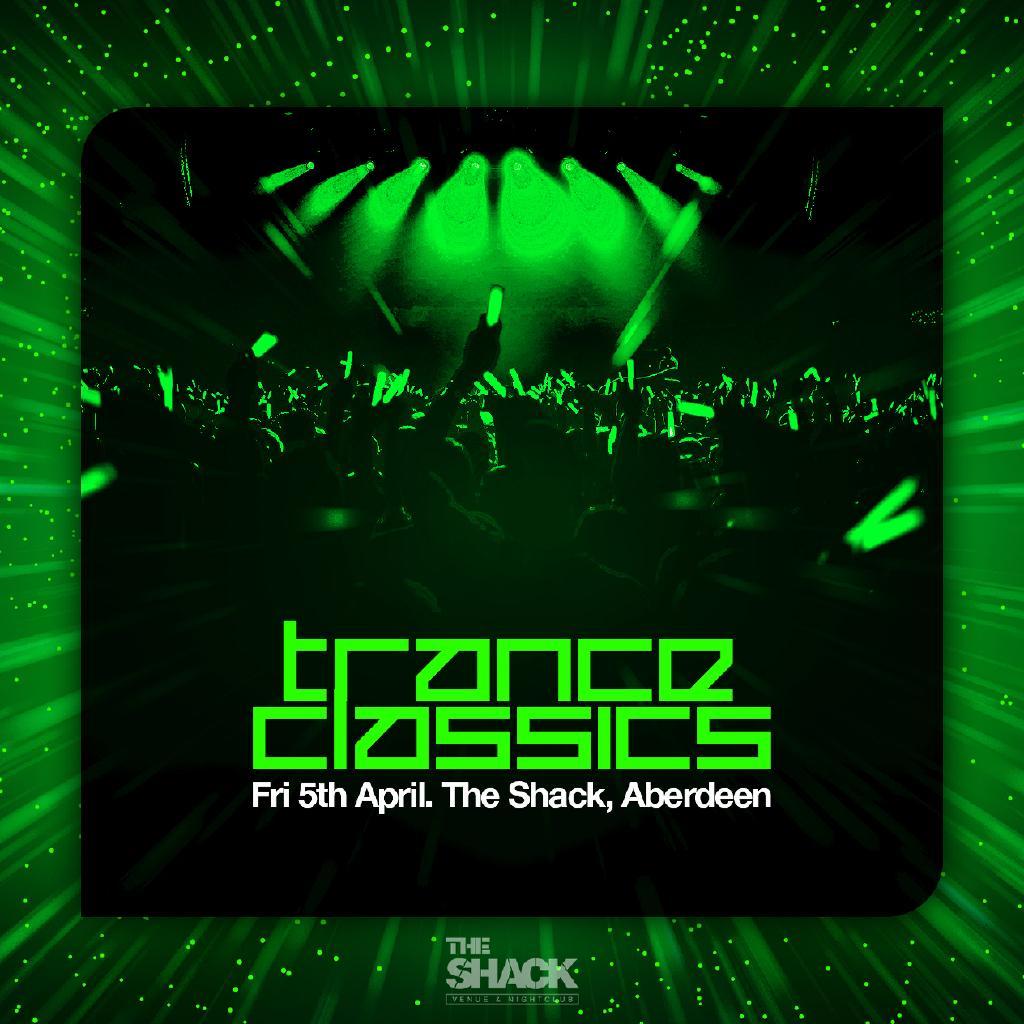 Amadeus Nightclub Aberdeen trance classics tickets | the shack aberdeen | fri 5th april