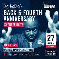 BACK N FORTH ANNIVERSARY WITH SHORTEE BLITZ