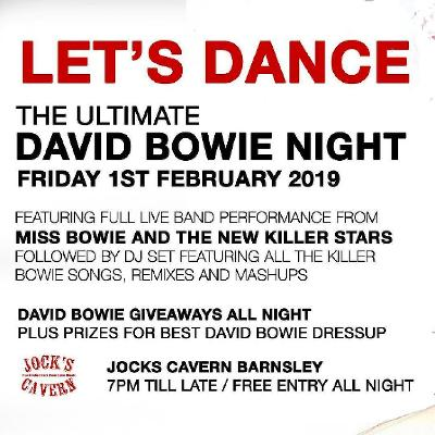 LET'S DANCE The Ultimate David Bowie Night