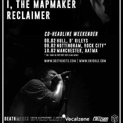 Reclaimer, I, The Mapmaker, South Cave, Surya Tickets | ORILEYS LIVE