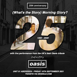 Definitely Oasis LIVE + Support