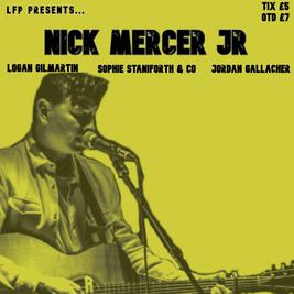 Nick Mercer JR + Support